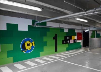LegoHouse - Foliedekoration