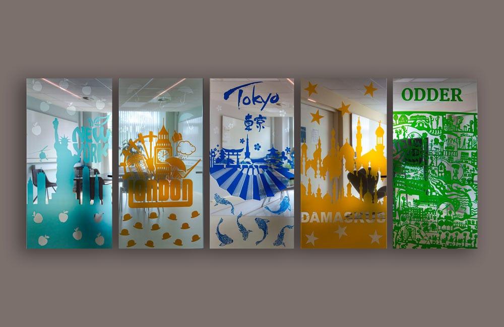 VitaPark folie på vinduer
