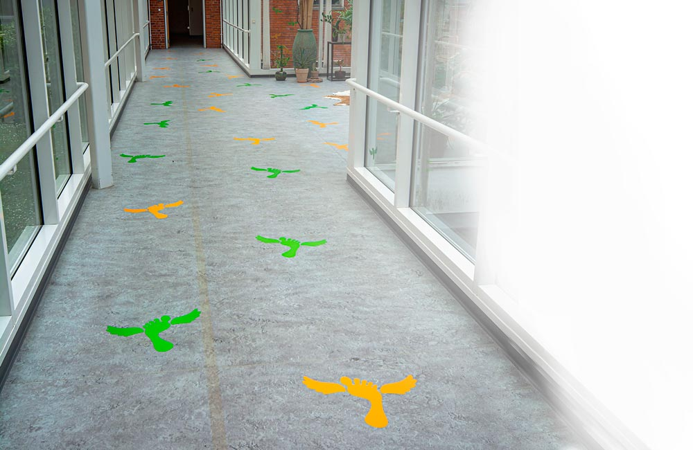 VitaPark folie på gulv